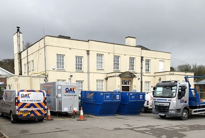 Asbestos Removal Works Kingsweston School Bristol