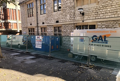 Asbestos Removal Works at Gloucester City Museum