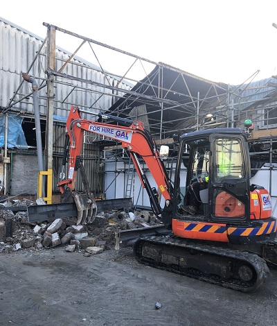 Industrial Dismantling - Royal Forest Factory, Coleford