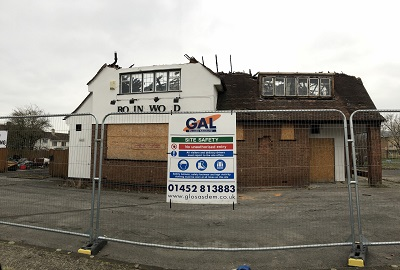Demolition & Site Clearance Works, Robinswood Pub, Gloucester