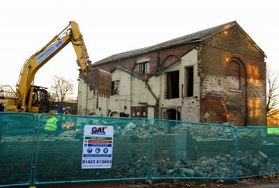 >Demolition & Site Clearance Works, Quayside Gloucester